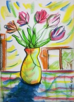 vase w flowers