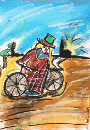 Het land van de Knipoog, short story by: Hanneke Eggels