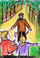 """Pasen op de hei"", short story by: Marian Trienekens"
