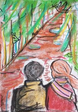 """""""Wandeling Witte Steen"""", short story by: Toos Berkx-Beckers"""