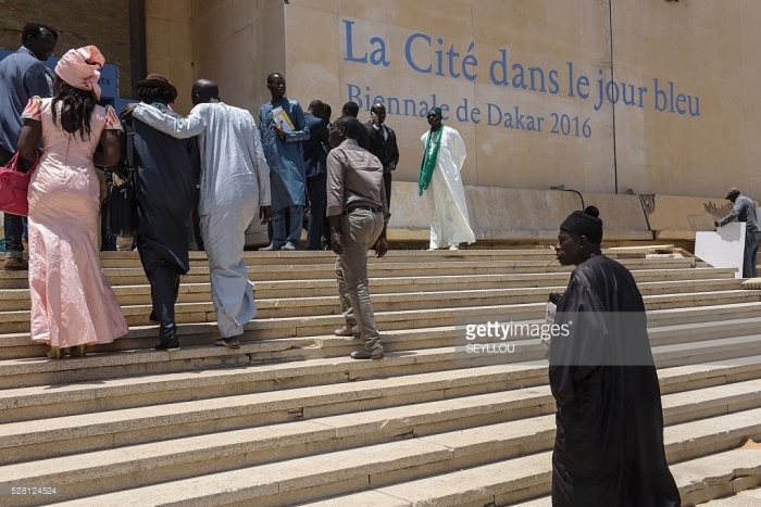 visitors-arrive-at-the-ancien-palais-de-justice-exhibition-place-to-picture-id528124524