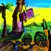 Artist at the Beachcopy